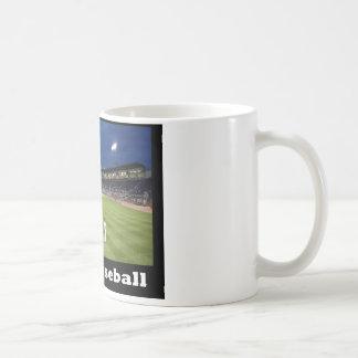 NA118.Night Baseball Coffee Mug
