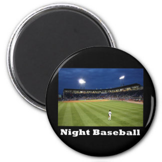 NA118.Night Baseball Magnet