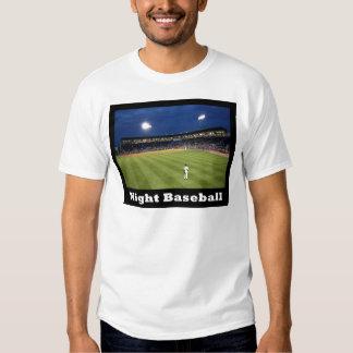 NA118.Night Baseball T-shirt