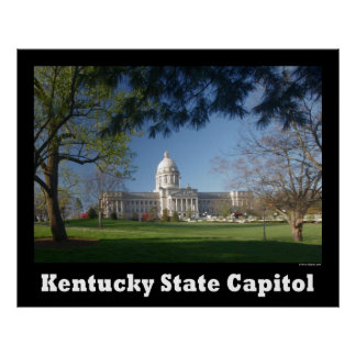 NA119.Ky Capitol. Poster