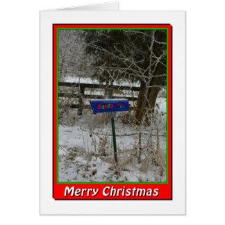 NA136.Merry Christmas.5x7. Card
