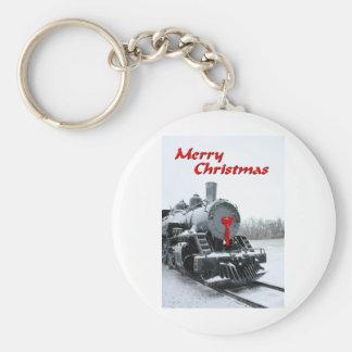 NA137.Merry Christmas.5x7. Llavero Redondo Tipo Pin