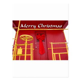 NA138.Merry Christmas.7x5. Postcard