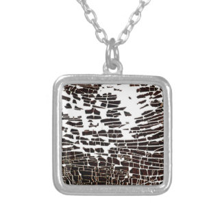 NA_4 [Wave] 2002 35mm slide Silver Plated Necklace