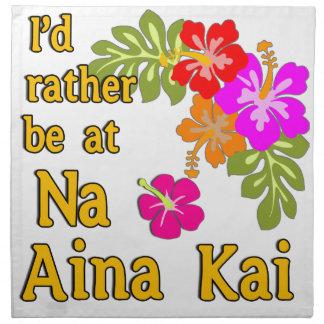 Na Aina Kai estaría bastante en Na Aina Kai Hawaii Servilletas De Papel