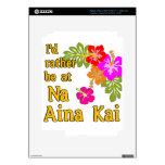 Na Aina Kai estaría bastante en Na Aina Kai Hawaii Pegatina Skin Para iPad 3