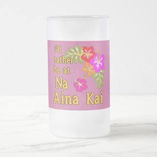 Na Aina Kai estaría bastante en Na Aina Kai Hawaii Taza De Cristal