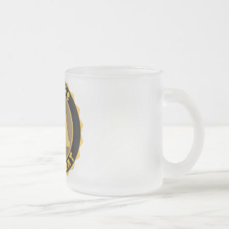 NA Badge - NURSE ASSISTANT Frosted Glass Coffee Mug