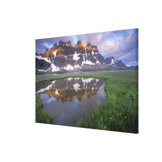 NA, Canada, Alberta, Tonoquin Valley. Jasper Canvas Print