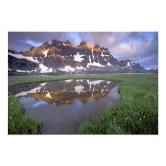 NA, Canadá, Alberta, valle de Tonoquin. Jaspe Impresiones Fotográficas