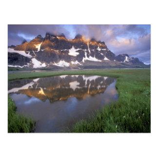 NA, Canadá, Alberta, valle de Tonoquin. Jaspe Tarjetas Postales