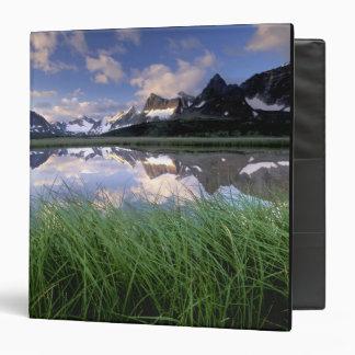 "NA, Canadá, Alberta, valle de Tonquin. Jaspe Carpeta 1 1/2"""