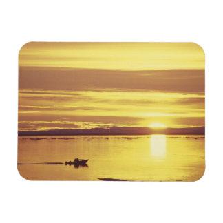 NA, Canadá, ártico canadiense, isla de Baffin Iman De Vinilo
