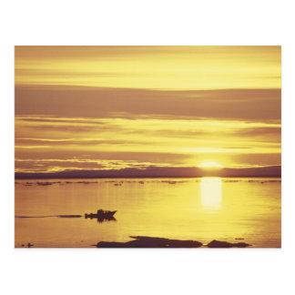 NA Canadá ártico canadiense isla de Baffin Tarjeta Postal