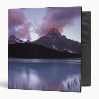 NA, Canada, Banff NP, Morning's first light on 3 Ring Binder