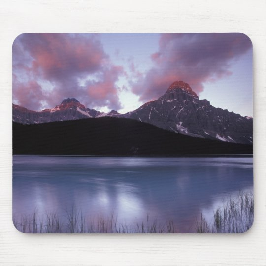 NA, Canada, Banff NP, Morning's first light on Mouse Pad