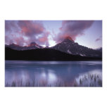 NA, Canada, Banff NP, Morning's first light on Photo Print
