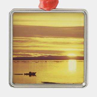 NA, Canada, Canadian Arctic, Baffin Island Metal Ornament