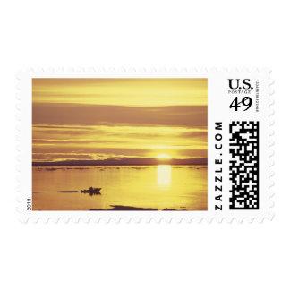 NA, Canada, Canadian Arctic, Baffin Island Stamp