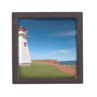 NA, Canadá, Isla del Principe Eduardo. Cabo Tryon Cajas De Recuerdo De Calidad