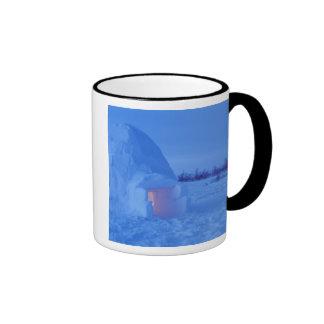 NA, Canada, Manitoba, Churchill. Arctic igloo Coffee Mug