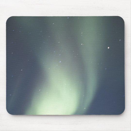 NA, Canada, Manitoba, Churchill Northern lights, Mouse Pad