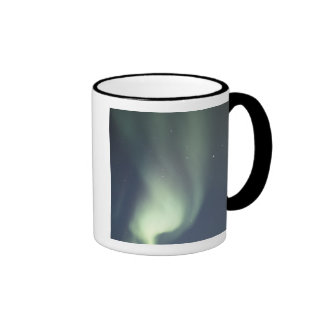 NA, Canada, Manitoba, Churchill Northern lights, Coffee Mugs