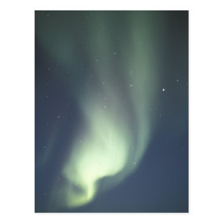 NA, Canada, Manitoba, Churchill Northern lights, Postcard