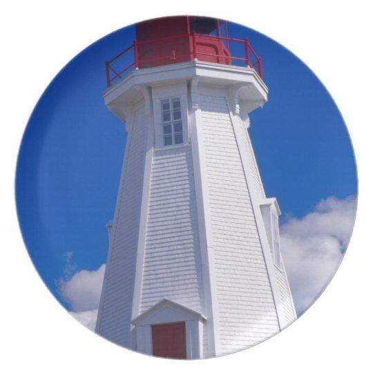 NA, Canada, New Brunswick, Campobello Island. 3 Melamine Plate