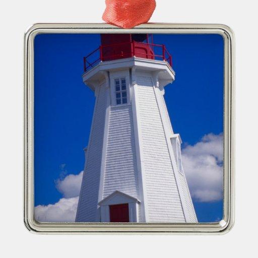 NA, Canada, New Brunswick, Campobello Island. 3 Christmas Tree Ornament