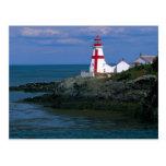 NA, Canada, New Brunswick, Campobello Island. 4 Postcard
