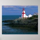NA, Canada, New Brunswick, Campobello Island. 4 Poster
