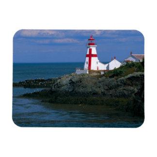 NA, Canada, New Brunswick, Campobello Island. 4 Rectangular Photo Magnet