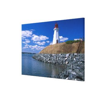 NA, Canada, New Brunswick, Campobello Island. 5 Stretched Canvas Print