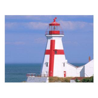 NA, Canada, New Brunswick, Campobello Island. 6 Postcard