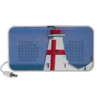 NA, Canada, New Brunswick, Campobello Island. 7 Mini Speakers