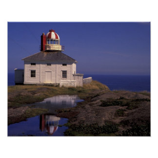 NA, Canada, Newfoundland, Cape Spear. Old Cape Poster