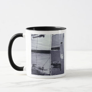 NA, Canada, Nova Scotia, Digby. Fishing boats; Mug