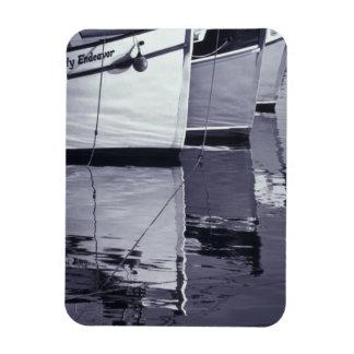 NA, Canada, Nova Scotia, Digby. Fishing boats; Rectangular Photo Magnet