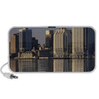 NA, Canada, Nova Scotia, Halifax. Halifax iPhone Speakers