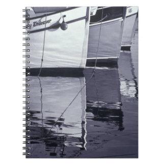 NA, Canadá, Nueva Escocia, Digby. Barcos de pesca; Libro De Apuntes Con Espiral