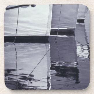 NA, Canadá, Nueva Escocia, Digby. Barcos de pesca; Posavasos