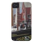 NA, Canadá, Nueva Escocia, Lunenburg. Atlántico iPhone 4 Case-Mate Coberturas