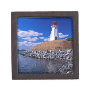 NA, Canadá, Nuevo Brunswick, isla de Campabello Cajas De Recuerdo De Calidad