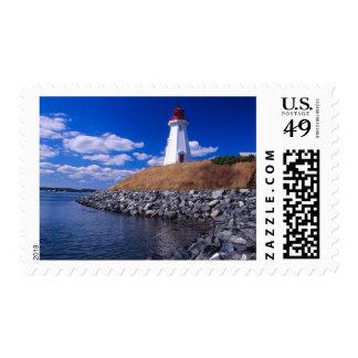 NA, Canadá, Nuevo Brunswick, isla de Campabello Estampillas