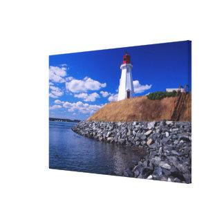 NA, Canadá, Nuevo Brunswick, isla de Campabello Impresiones En Lienzo Estiradas