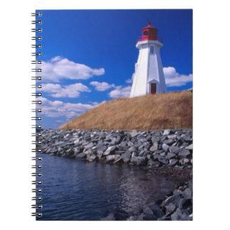 NA, Canadá, Nuevo Brunswick, isla de Campabello Note Book