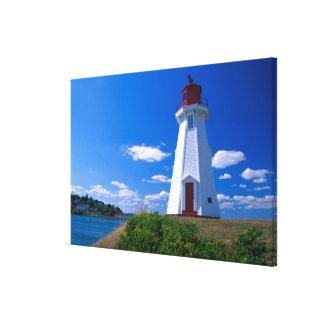 NA, Canadá, Nuevo Brunswick, isla de Campobello. 2 Impresión En Lona Estirada