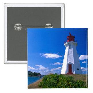 NA, Canadá, Nuevo Brunswick, isla de Campobello. 2 Pin Cuadrada 5 Cm