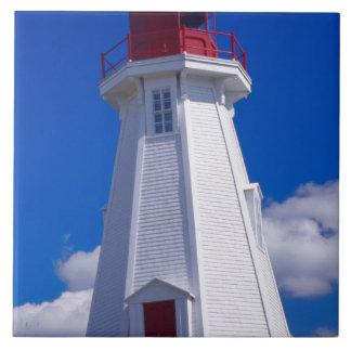 NA, Canadá, Nuevo Brunswick, isla de Campobello. 3 Azulejo Cuadrado Grande